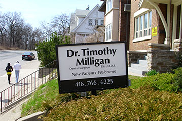 Family dentist office high park toronto